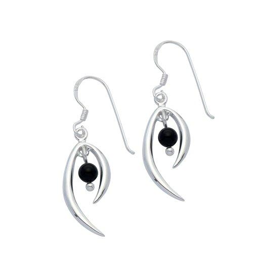 adara-silver-wish-bone-black-stone-earrings