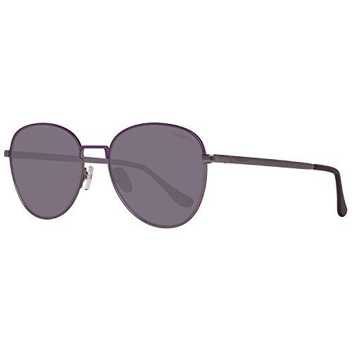 Pepe Jeans Damen PJ5136C454 Sonnenbrille, Grau (Gunmetal), 54