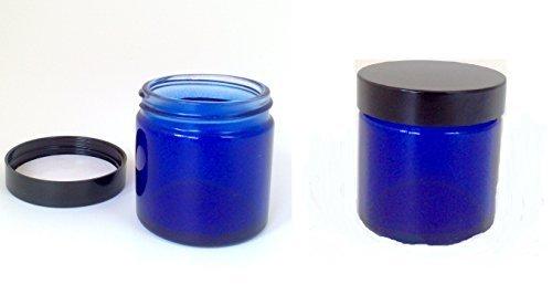 confezione-da-2-x-60ml-vuote-blu-vasetto-di-vetro-with-black-coperchio-per-aromaterapia-cosmetici-e-