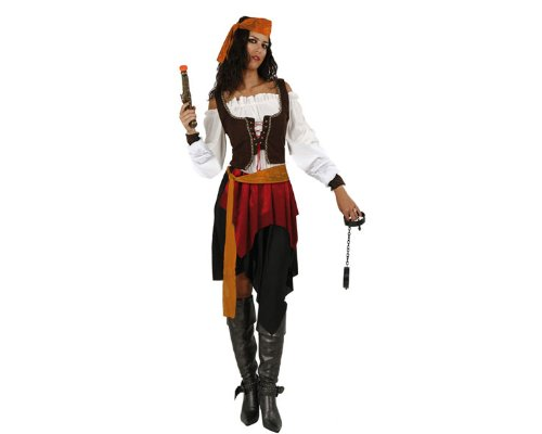 Imagen de atosa  disfraz de pirata para mujer, talla m/l 70182
