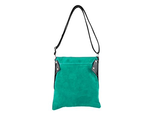scarlet bijoux, Borsa a tracolla donna one size Verde