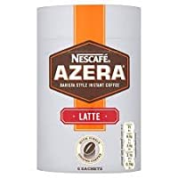 Nescafe Azera LATTE Barista Style Instant Coffee 6 Sachets (Pack of 2)