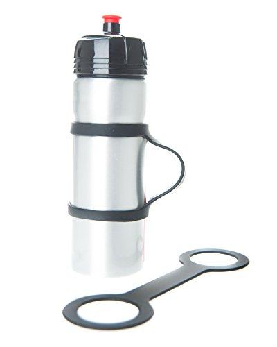 Handiwear (2), der Wasserflaschentrageriemen zum Laufen. Mit diesem weichen Gurt können Sie jede Flasche festhalten. Fürs Fahrrad, Fitnessstudio oder Joggen (Laufenden Band Flasche)