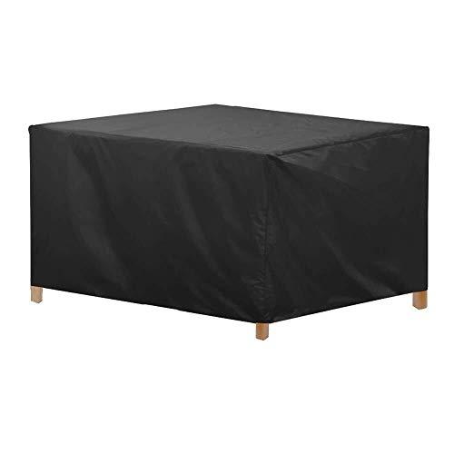 ets Abdeckung wasserdicht gartentisch Sofa Abdeckung reißfest Oxford Tuch 125x125x71 cm (Size : S) ()