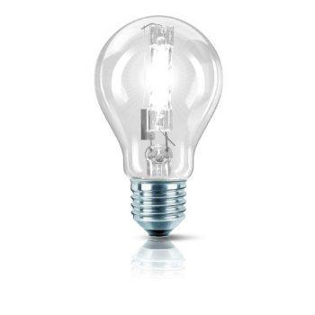 2 X Philips 25226225 EcoClassic 30 E27 A60 Brilliantes Halogenlicht 105W in Glühlampenform, klar