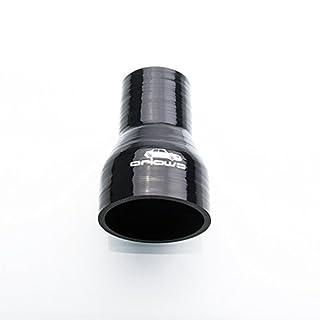 Ø 76mm auf 51mm Silikon Schlauch Reduzierer ( Schwarz ) Reduzierstück