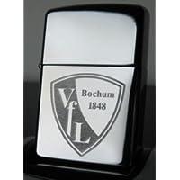 VfL Bochum Zippo cromo lucido
