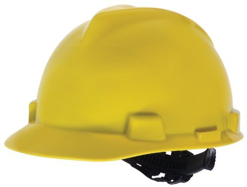 MSA Safety Works 818068 Hard Hat, Yellow by Safety Works (Hard Safety Msa Hat)