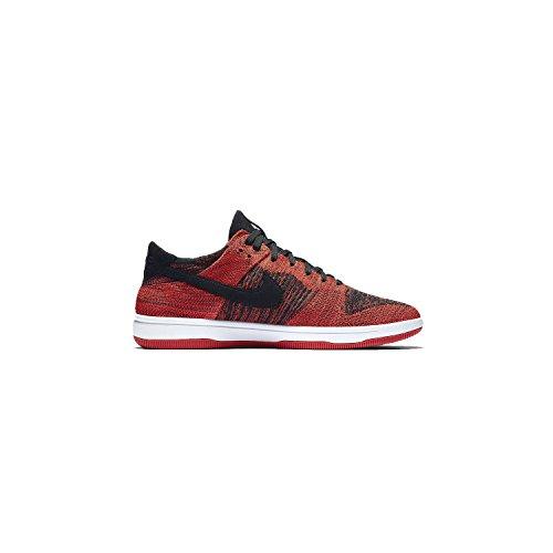 Nike NIKE917746-005 - Dunk Flyknit Herren, (rot/schwarz), 45 EU D(M) - Schwarz Nike Dunk
