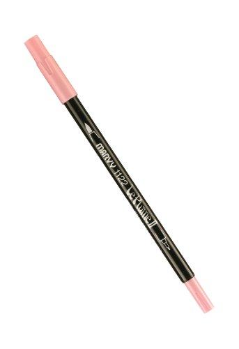 Unbekannt Uchida Marvy Extra feine Spitze Le Plume II Double Ender Marker Pen Bubble Gum pink Double Bubble Gum