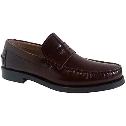Zapatos Privata Castellano Burdeos