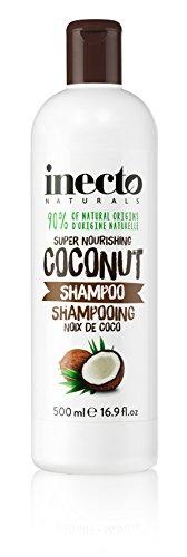 Inecto Naturals Super Nourishing Shampoo, Kokos 500ml–6Stück