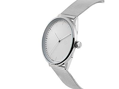 CHPO Reloj Analógico para Unisex Adultos de Cuarzo con Correa en Acero Inoxidable 14232BB de CHPO
