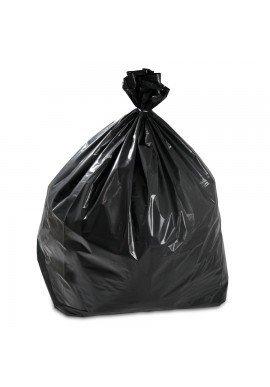 Sacchi spazzatura e immondizia - cm. 55x65 - Scatola maxi scorta da Kg. 15 (circa 320 sacchetti) - Buste medie di colore nero ideali per rifiuti, raccolta differenziata, piccoli bidoni domestici, giardinaggio, condomini e nettezza urbana