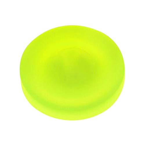 Zip Chip Spin On The Game of Catch Silikon Ultimate Mini Flying Disc Spielzeug Außerhalb Spiel Ideal Für Kinder & Erwachsene 6,5 cm (Grun)