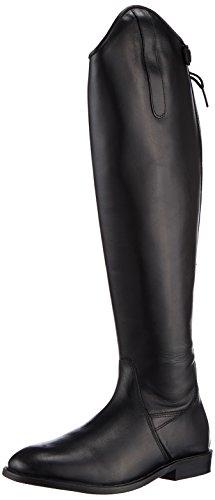 HKM Reitstiefel -Italy-,Soft Leder,Standardlänge/Weite, schwarz, 38