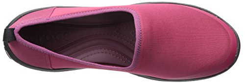 CROCS - BUSY DAY STRETCH SKIMMER black graphite Plum