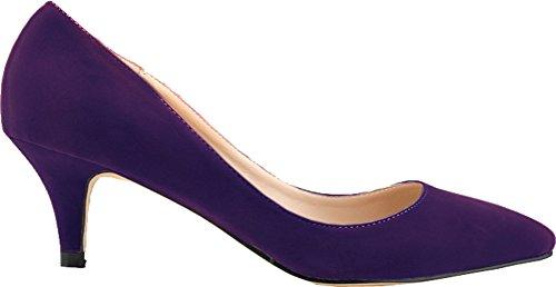 Salabobo , Sandales Compensées femme Violet