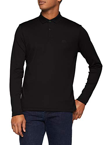 BOSS Herren Pirol Poloshirt, Schwarz (Black 001), Medium -