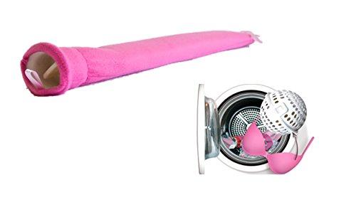 Betty Ball BH Waschkugel Wäschenetz + Wärmeflaschen für Frauen blau -