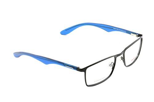 Carrera Montures de lunettes Ca6614 Muses Pour Homme Matte Black, 54mm DFM: Black / Peacock