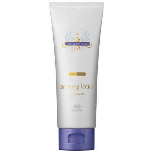 Make Believe Little White Lie Premium Lotion with Argan Oil Self Tan 125ml - Lighter