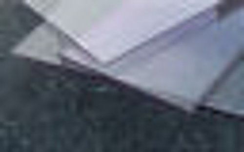 Folie PET-G klar 1000 x 500 x 0,5 mm Sonderposten Zuschnitt Reststück 0.5-platte