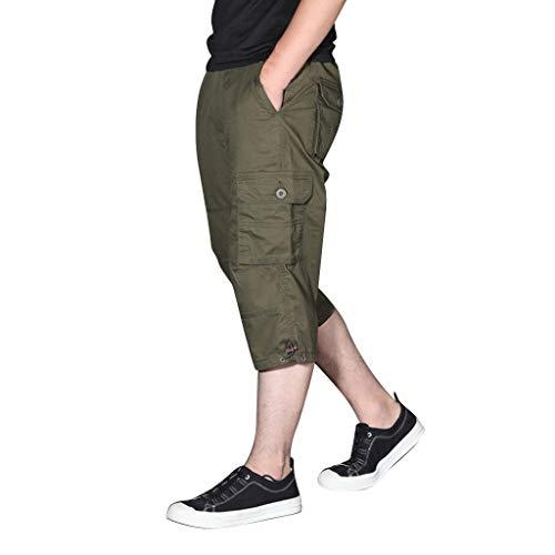 Daysing Herren Outdoor Chino Cargo Shorts Hose 2019 Neu Sommer Männer Moderen Stil Multi-Pocket Overall Pants Field-cargo-hose