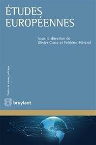Études européennes par Olivier Costa