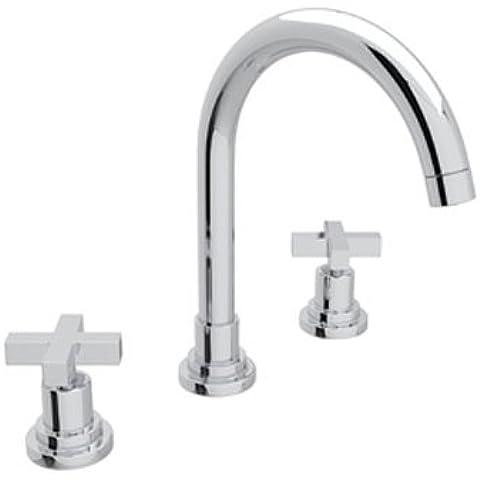Rohl A2208X M-2Lombardia bassa piombo lavabo rubinetto con croce in