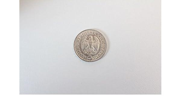Vintage13de Münze Paul Von Hindenburg 1847 1934 Deutsches Reich