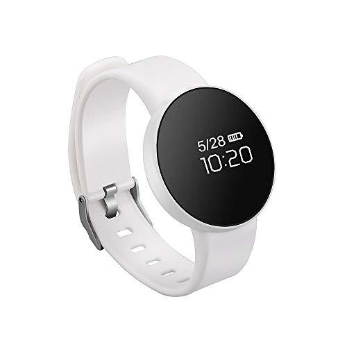 Ediand Fitness Tracker, 0,66 Zoll Glasschirm Uhr Schlaf Überwachung IP67 Wasserdichte Schrittzähler Bluetooth Sport Armband für iOS Android-Handy