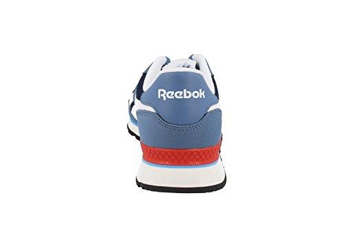 Reebok Royal Sprint, Chaussures de Sport Homme Gris (Slate / Coll Navy / Wht / Riot Red / Crisp Blue)