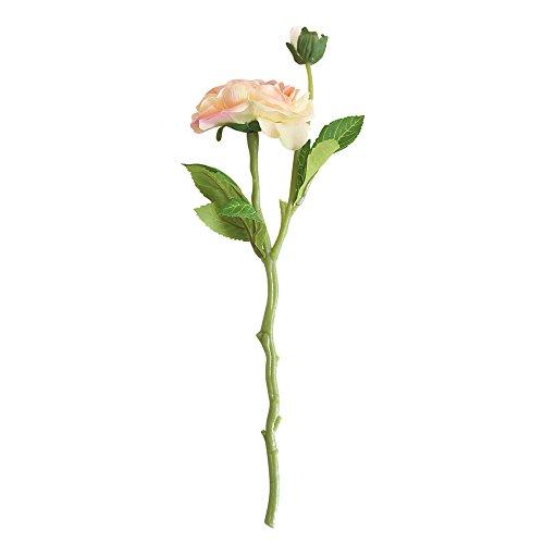 Dvhblxux Bouquet Artificielle Rose Fête De Mariage Mariée Bouquet Décor À La Maison Fleur Roses de cristal Beauté naturelle Pivoine