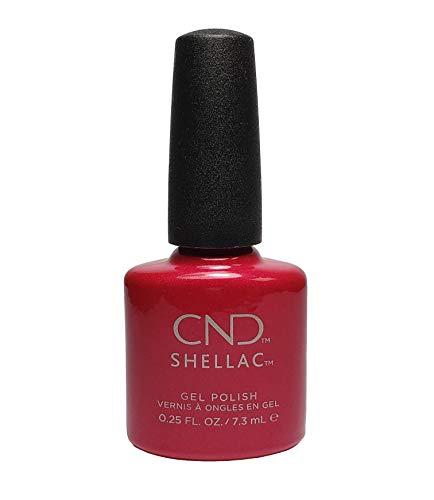 Shellac Red Baroness Gel Nail Polish .25