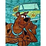 Warner Bros Scooby Doo Doppelbett Plüsch Decke