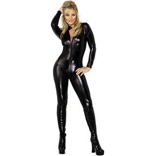 Kostüme Halloween Domina (Domina-Kostüm für Damen - S)