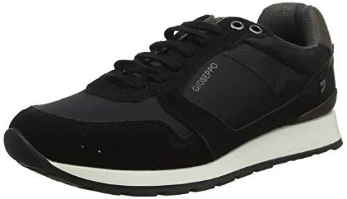 Gioseppo 56112, Zapatillas para Hombre, Negro Negro Negro, 40 EU