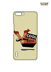 VDESI Designer Matte Back Cover For Huawei Honor 6+-21540084