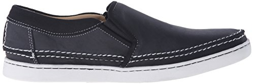 Sebago Mens Ryde Slip-On Loafer Black Leather