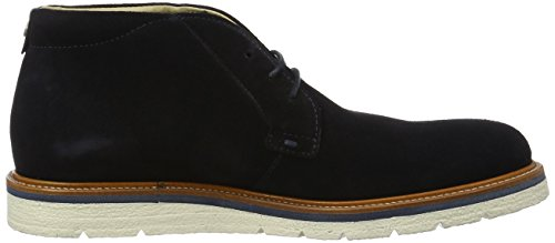 Boss Orange Tuned, Bottes Chukka Homme Bleu (Dark Blue 401)