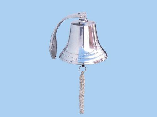 Chrome Hanging Harbor Bell 25,4 cm - Hanging Harbor Bell