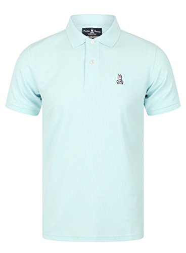 Psycho Bunny Classic Polo Shirt, Cerulean
