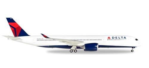 Herpa- Delta Air Lines Airbus A350-900 XWB-N501DN Maqueta de Escalera 558815