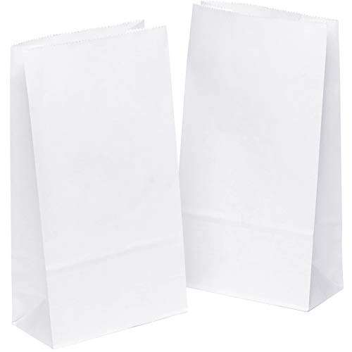 ß Geschenktüten Tütchen 12 x 6 x 22 cm Papier klein Kraftpapier tüten Papiertütchen Süßigkeiten Geschenk kleine KGpack mini Papierbeutel Adventskalender Kindergeburtstag ()