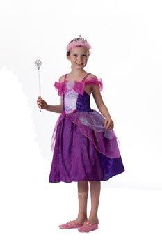Kostüme Prinzessin Junior (Wilbers Federbein Junior Prinzessin Kinder Kostüm (violett,)