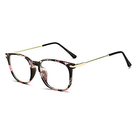 Skitic Anti Radiation Glasses Anti-Reflective Anti-Glare Blue Light Filter Block UV Protection Computer Glasses, Anti Eye Fatigue Eyewear Transparent Clear Lens Blocking Headaches Eye Strain, Reading Eyeglasses - Leopard