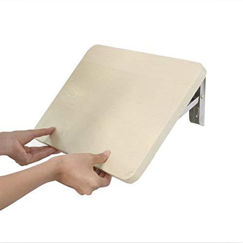 LIANGLIANG Tavolo Pieghevole a Muro Tavolo da Muro Parete Pieghevole Scrivania del Computer Soggiorno Mensola Scrivania Pannelli A Base di Legno, 5 Taglie (Dimensioni : 40x26cm)