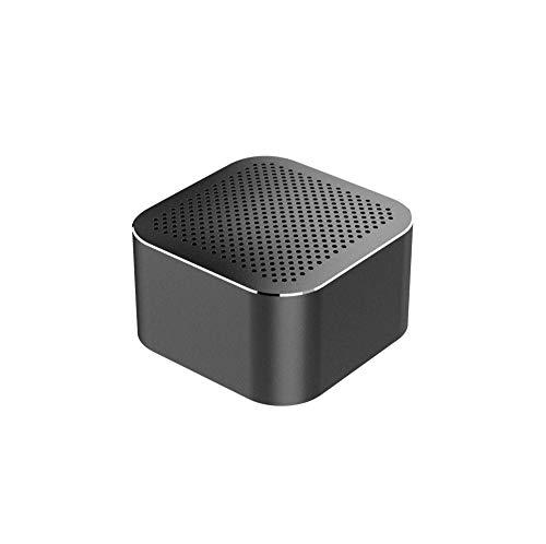 ERKEJI Altavoz Bluetooth Inalámbrico Metal Altavoz TF-Tarjeta Bluetooth4.2 Subwoofer Regalo Inteligente de...