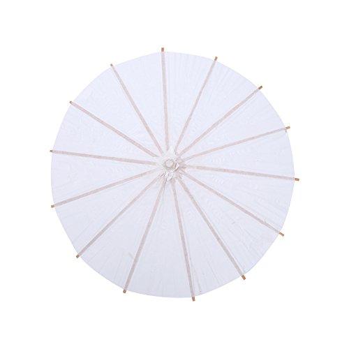 FTVOGUE Paraguas de Papel Boda, Paraguas de Papel Chino/Japonés para Bodas, Damas de Honor, bomboneras, Servicios fotográficos, Trajes, Cosplay, decoración y Bricolaje